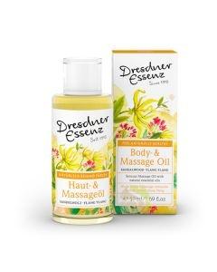 Huile massage relaxante Naturado Bio naturelle sans huiles essentielles