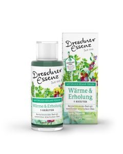 Bain revitalisant 5 huiles essentielles Vegan Dresdner Essenz