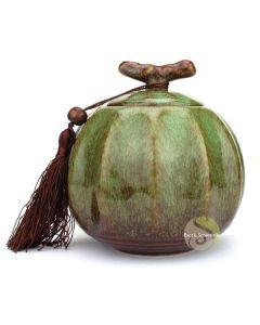 Boite à thé pumpkin verte