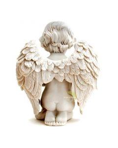 Statue ange priant