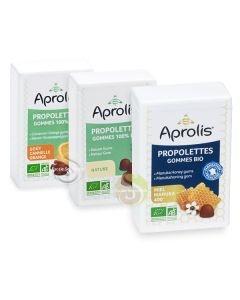 Propolettes gommes propolis 100% Bio