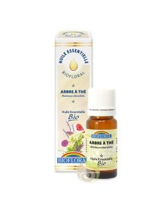 Arbre à thé Bio huile essentielle Biofloral ecocert Biologique