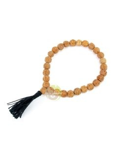 Parure 3 bracelets rudraksha & onyx