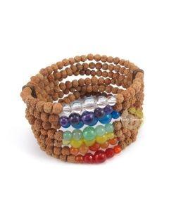 Bracelet manchette 7 chakras