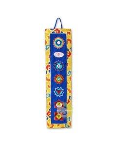 Bannière tibétaine 7 chakras