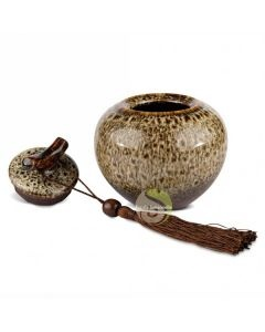 Boite à thé lychee brun