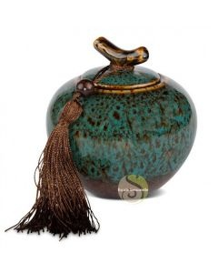 Boite à thé lychee bleu