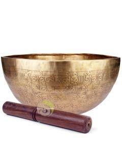 Bol tibétain chantant Bouddha médecine