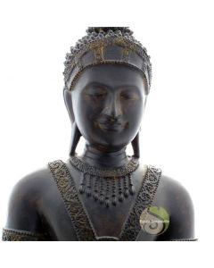 Statue thailandais Bouddha offrande
