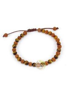 Rudraksha graines et Onyx gemme minéral vertus chakras et signe astro