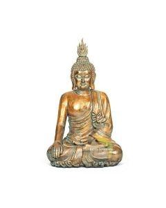 Statue Bouddha assis en lotus