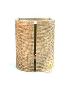 Diffuseur en chêne pour encens en grains et plantes