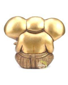 Ganesh métal doré
