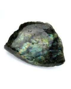 Labradorite pierre minérale brute protection onde négative lithothérapie