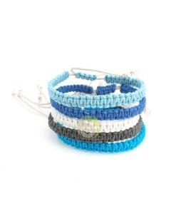 Bracelet chanvre océan
