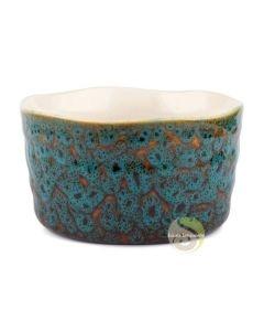 Bol à thé matcha chawan bleu noir