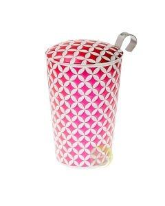 Tisanière céramique May lin pink