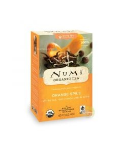 Thé blanc orange et épices Bio