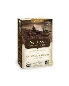 Thé noir Pu erh chocolat bio