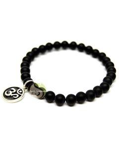 Tête de Bouddha charm argent 925e bracelet bijoux protection