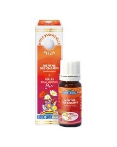 Aide à la digestion citron perles d'huiles essentielles Biofloral