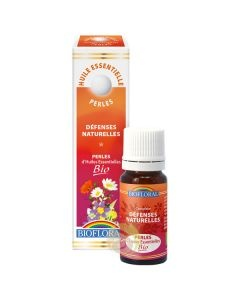Vitalité tonus perles biofloral huiles essentielles complexe