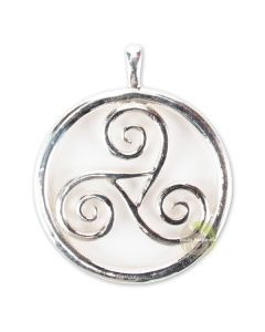 Triskell pendentif celtique argent 925 ème