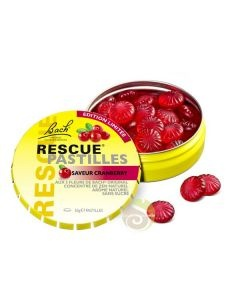 Rescue® pastilles cranberry Bach® original