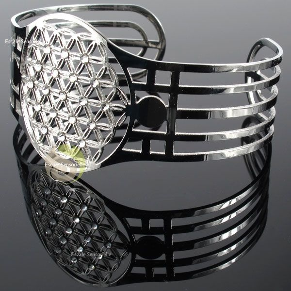 Swarovski Bracelet Bijou Fleur De Vie 19 Elements