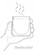 Tisanière double paroi - Escale Sensorielle